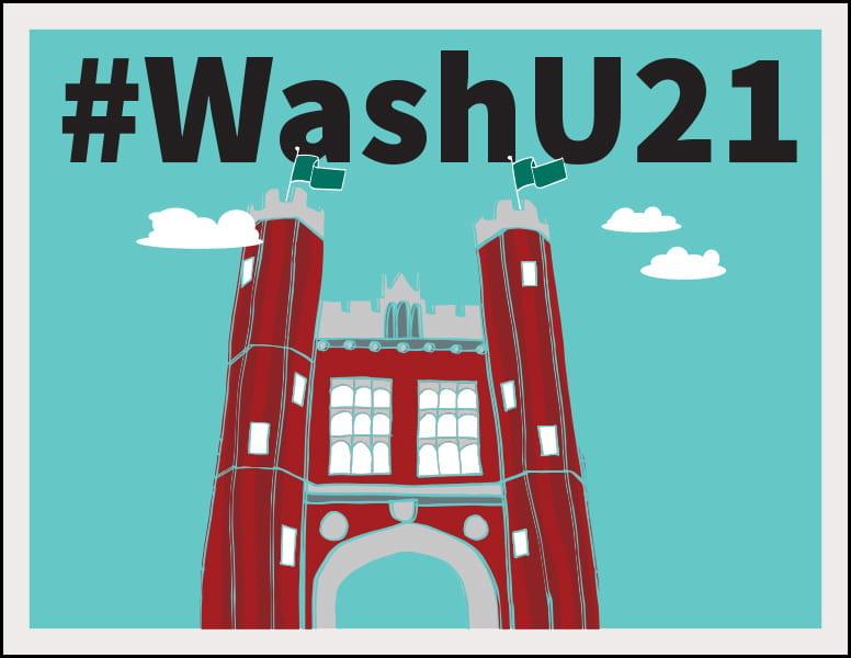 @WashU21 sign