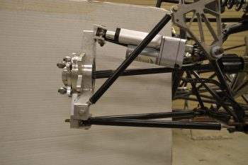 Four-Wheel Steering Prototype on 2015 Frame