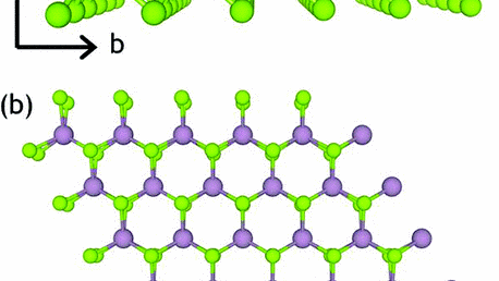 9. Prediction of a 2-D dilute magnetic semiconductor