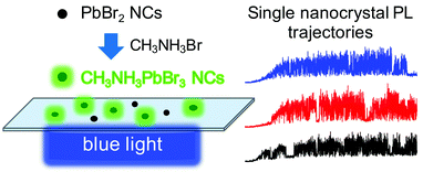 43. Sharp Transitions in Single Lead Bromide Nanocrystals