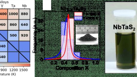 56. Quasi‐Binary TMDC alloys: Thermodynamic Stability Prediction, Scalable Synthesis, and Application