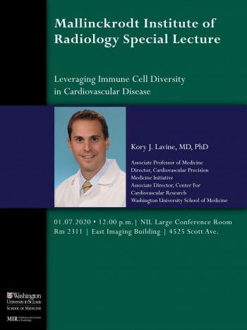 Seminar Speaker – Dr. Kory J. Lavine