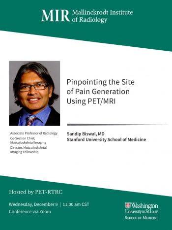Seminar Speaker- Dr. Sandip Biswal | Dec 9 | 11:00am CST