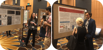 Madelyn Lorenz and Alec Beeve present at ISAN 2019