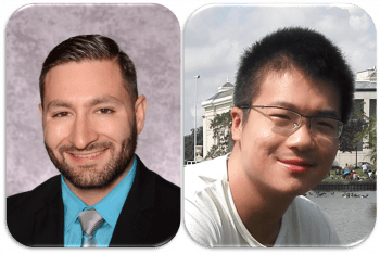 Welcome to Dr. Alexander Ahmadi and Xiao Zhang