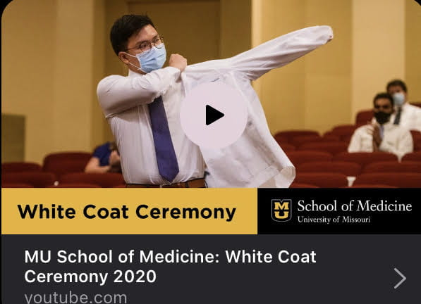 Many congratulations to Hero Robles as he begins medical school