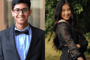 Welcome to our new undergraduates – Anurag Majumdar and Anna Li