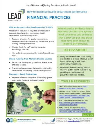 Financial Practices (pdf)