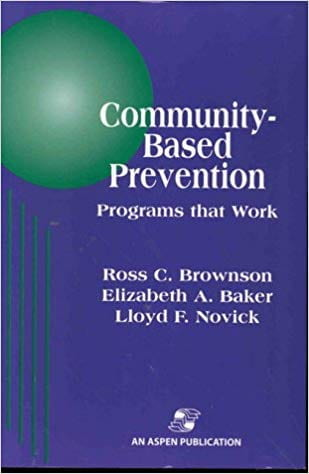 Community-Based Prevention book cover