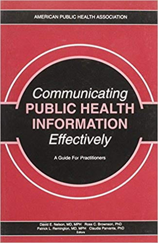 Communicating Public Health Information Effectively book cover