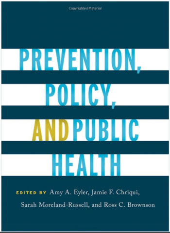 Prevention, Policy and Public Health book cover