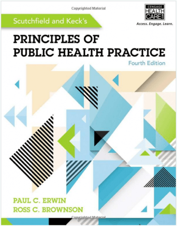 Principles of Public Health Practice, 4th edition book cover