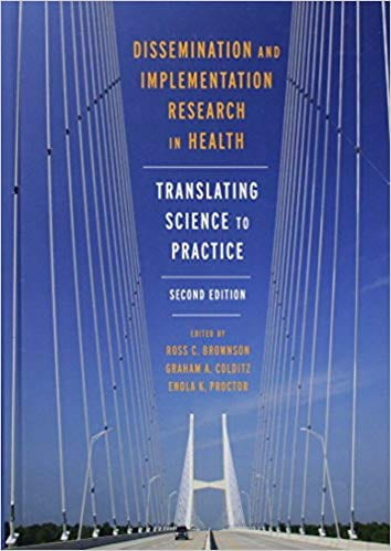 Dissemination and Implementation Research in Health, 2nd edition cover