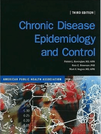 Chronic Disease Epidemiology and Control 3rd edition book cover