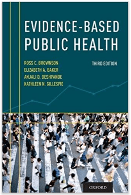 Evidence-Based public Health, 3rd Edition cover