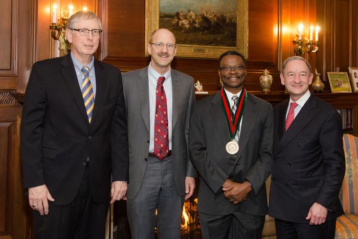Dr. Achilefu named inaugural Ter-Pogossian Professor