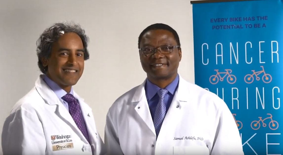 Dr. Achilefu named a Pedal the Cause Featured Fighter