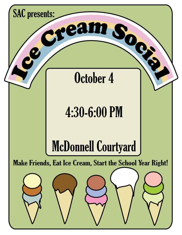 Ice Cream Social This Week!