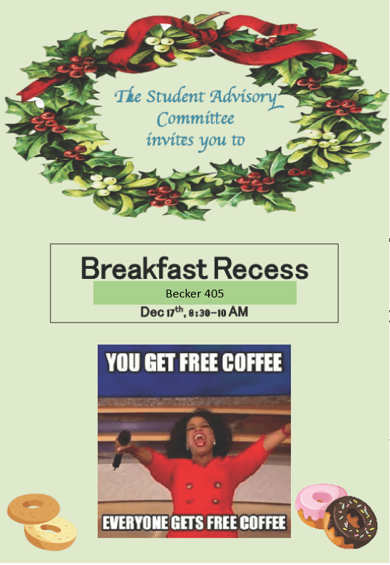 SAC Breakfast Recess