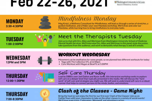 Wellness Week 2021 – Feb 22nd-26th