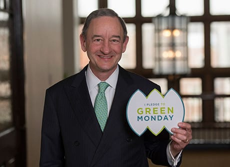 Chancellor Wrighton, Green Monday