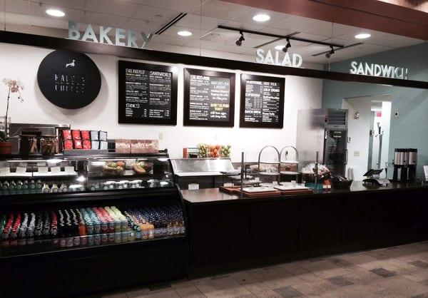 Kali's Fair Trade coffee at a Wash U dining location.