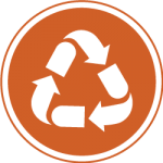 Logo for waste reduction