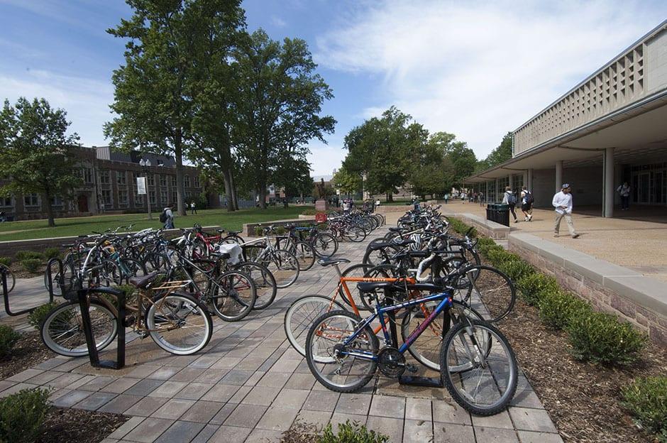 campus bike trail