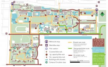 Campus Bike Map