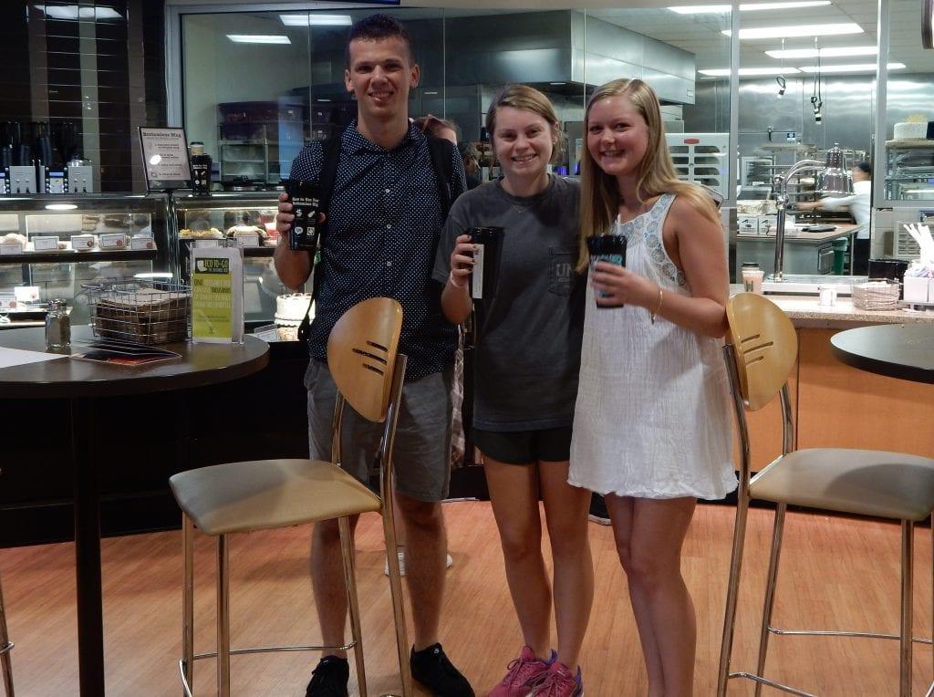 The Bottomless Coffee Mug Program Saves Cups!