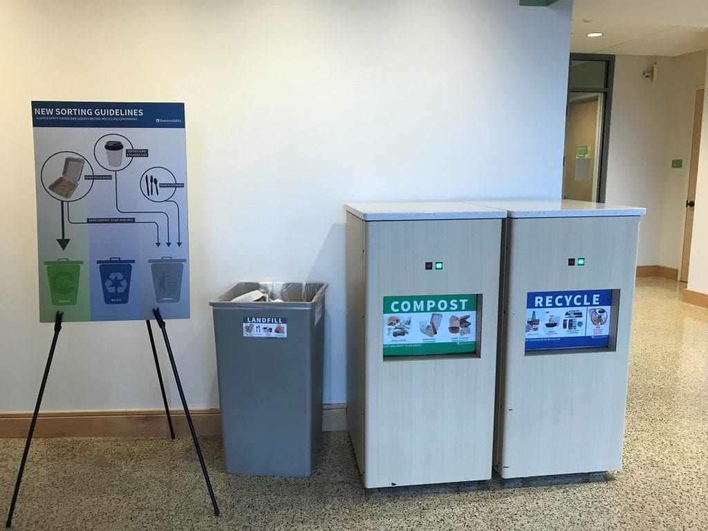 Hillman Hall Takes the Race to Zero Waste Challenge