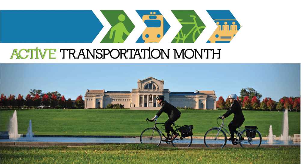 April is Active Transportation Month