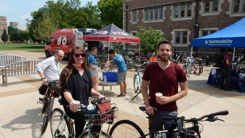 Danforth Bike Tune Up Commuter Fairs Sustainability Washington University In St Louis