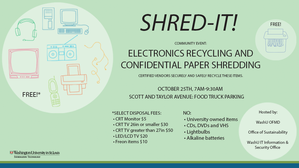 Electronics Recycling & Confidential Paper Shredding Event