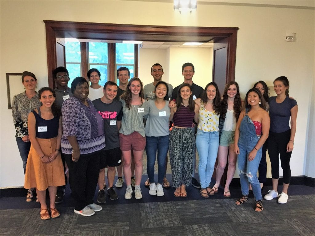 A Renewed Cohort of Sustainability Associates for the Fall 18
