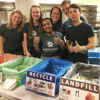 Recycling Genius Volunteer Opportunities: Fall 2019
