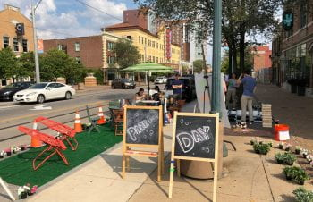 Park(ing) Day Transforms Parking Spaces into Miniature Park