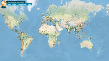 Resource Digest: the Global Atlas of Environmental Justice