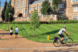 Help the League of American Bicyclists Judge WashU's Bikeability