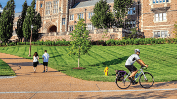 Help the League of American Bicyclists Judge WashU's Bikeability