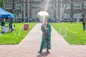 Sustainability on Display at Historic Commencement