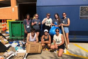 New Students Welcomed to WashU's Sustainability Culture
