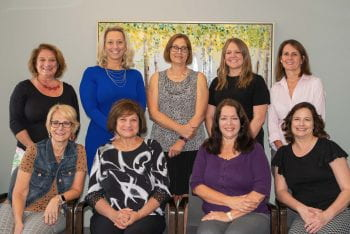 Photo of the secretarial group