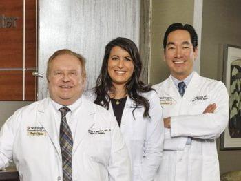Photo of Drs Branham, Spataro and Chi