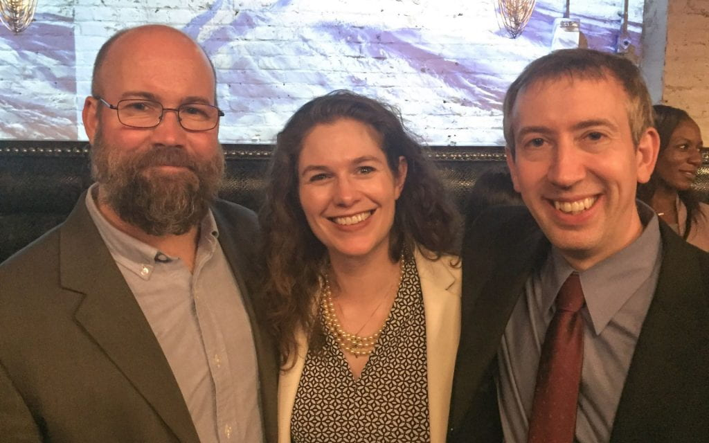 photo of alums at recent AAO meeting
