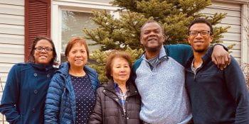 Photo of Harrington family