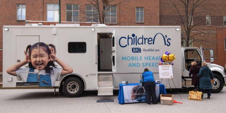 Mobile hearing/speech clinic serves St. Louis at-risk children