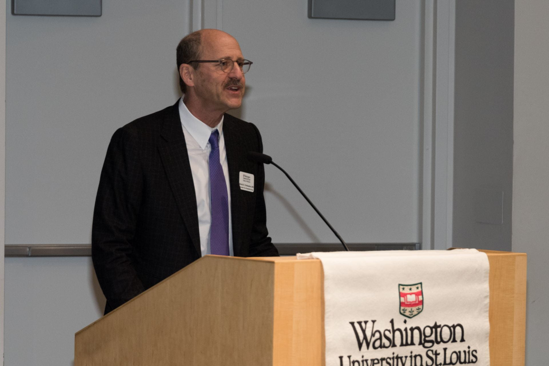 Dean David Perlmutter opens the inaugural symposium.