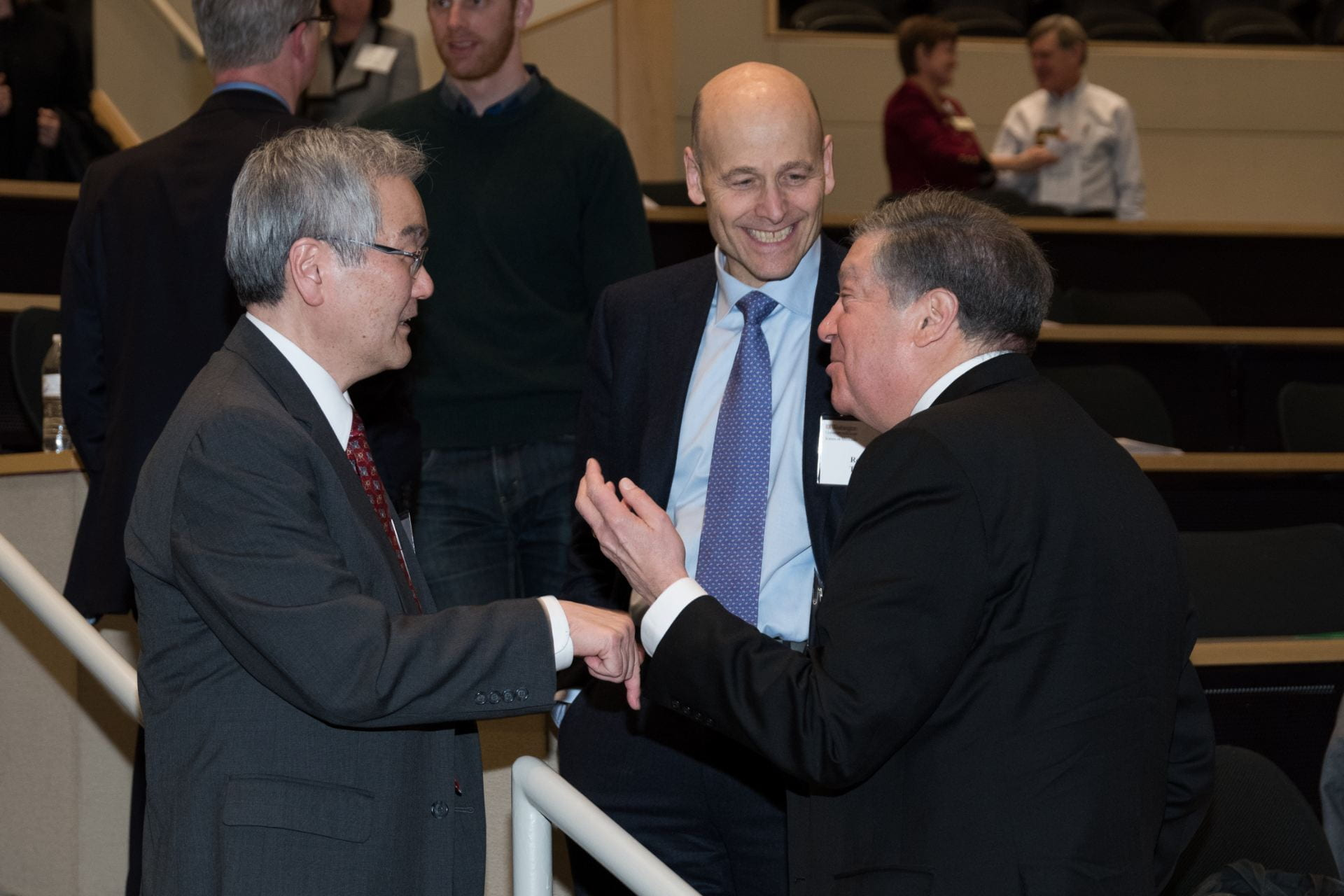 Wayne Yokoyama, Bob Tepper and Bob Schreiber
