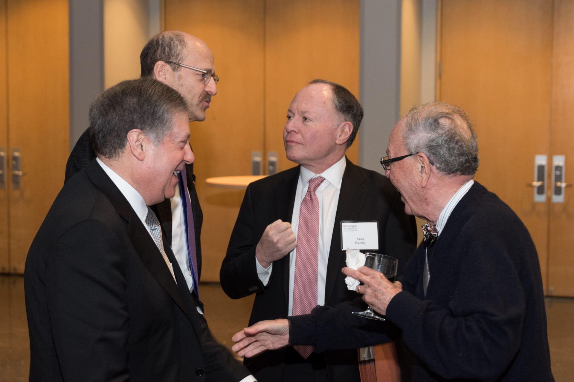 Bob Schreiber, Dean Perlmutter, Andy Bursky, Emil Unanue